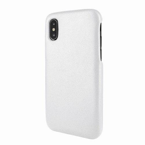 Piel Frama 791 White FramaSlimGrip Leather Case for Apple iPhone X / Xs
