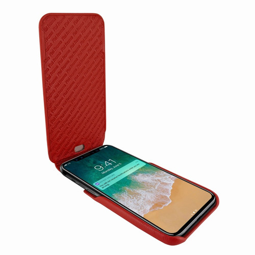 Piel Frama 792 Red iMagnum Leather Case for Apple iPhone X / Xs