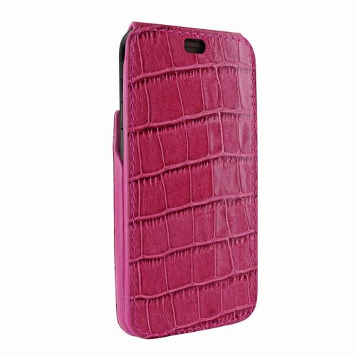 Piel Frama 792 Pink Crocodile iMagnum Leather Case for Apple iPhone X / Xs