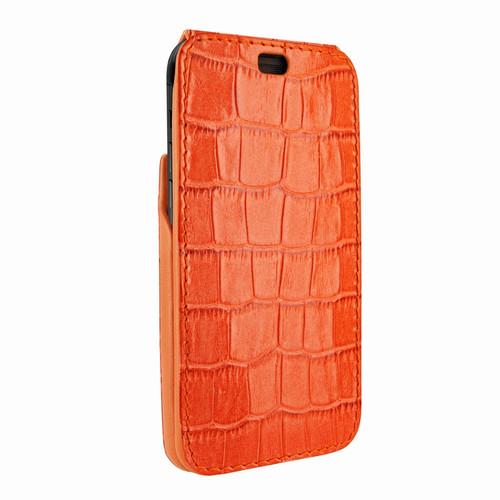 Piel Frama 792 Orange Crocodile iMagnum Leather Case for Apple iPhone X / Xs