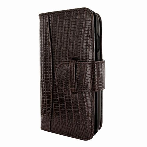 Piel Frama 793 Brown Lizard WalletMagnum Leather Case for Apple iPhone X / Xs