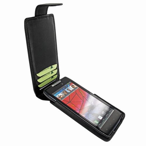 Piel Frama 562 iMagnum Black Leather Case for Motorola Droid RAZR / RAZR MAXX