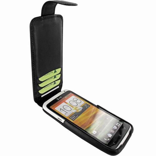 Piel Frama 584 Black Leather Hybrid Case for HTC One X