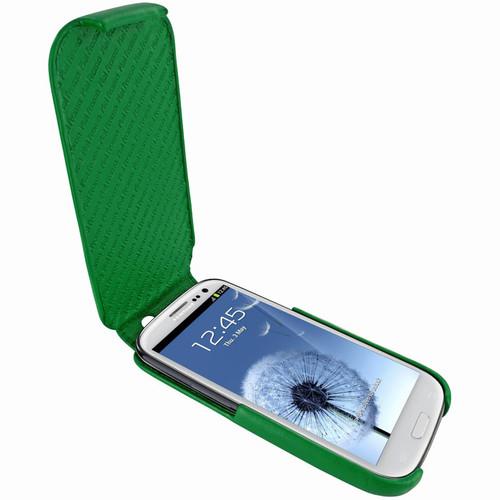 Piel Frama 585 iMagnum Green Leather Case for Samsung Galaxy S III