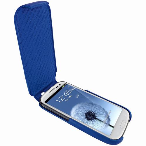Piel Frama 585 iMagnum Blue Leather Case for Samsung Galaxy S III
