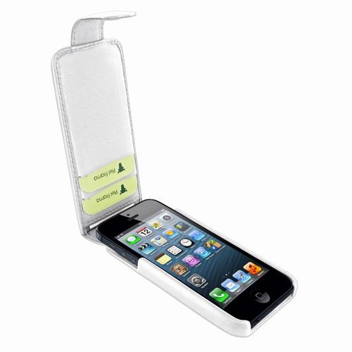 Piel Frama 599 iMagnum V2 White Leather Case for Apple iPhone 5 / 5S / SE