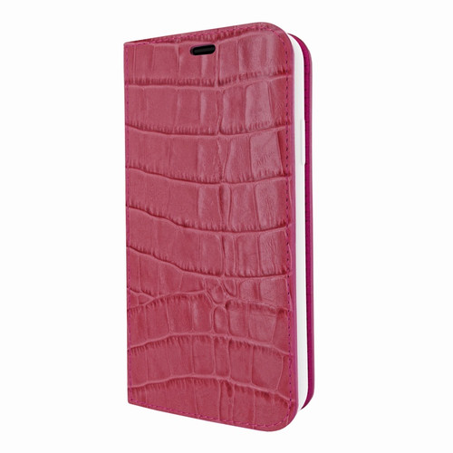 Piel Frama 808 Pink Crocodile FramaSlimCards Leather Case for Apple iPhone Xs Max