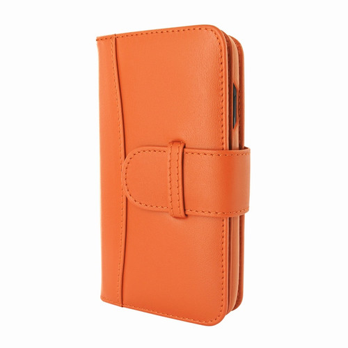Piel Frama 810 Orange WalletMagnum Leather Case for Apple iPhone Xs Max