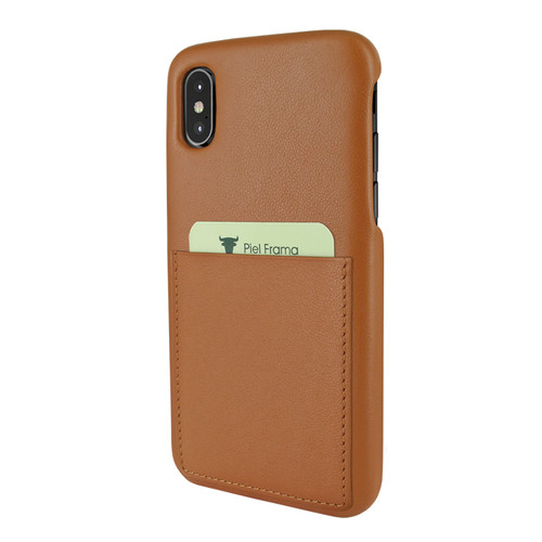 Piel Frama 812 Tan FramaSlimGrip Leather Case for Apple iPhone Xs Max