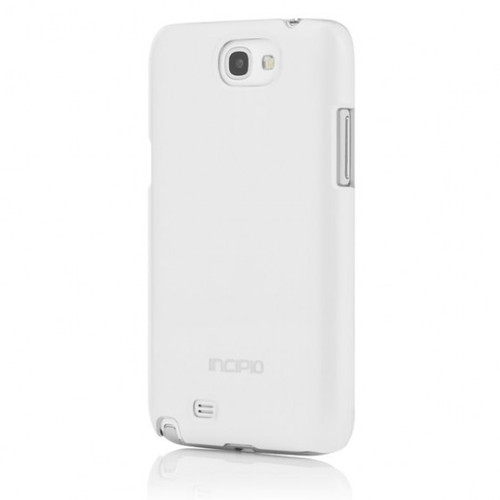 Incipio White Feather SHINE Ultra Thin Shell with Aluminum Finish for Samsung Galaxy Note 2