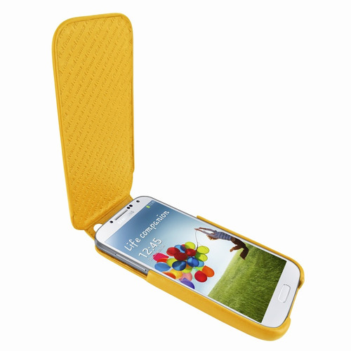 Piel Frama 618 iMagnum Yellow Leather Case for Samsung Galaxy S4