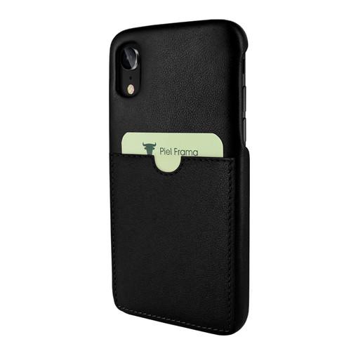 Piel Frama 814 Black FramaSlimGrip Leather Case for Apple iPhone Xr