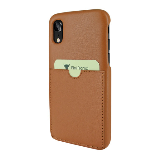 Piel Frama 814 Tan FramaSlimGrip Leather Case for Apple iPhone Xr