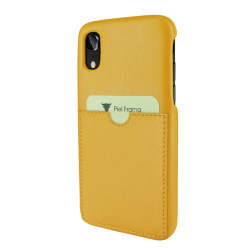 Piel Frama 814 Yellow FramaSlimGrip Leather Case for Apple iPhone Xr