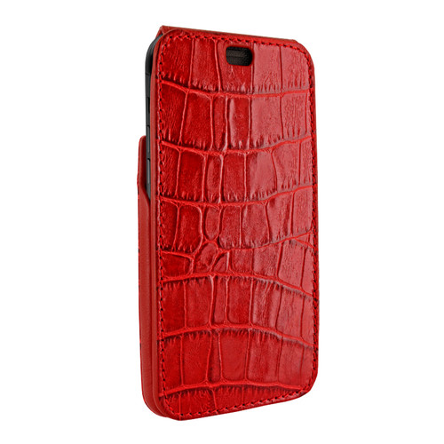 Piel Frama 815 Red Crocodile iMagnum Leather Case for Apple iPhone Xr
