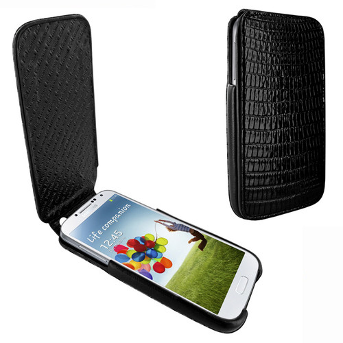 Piel Frama 618 iMagnum Black Lizard Leather Case for Samsung Galaxy S4