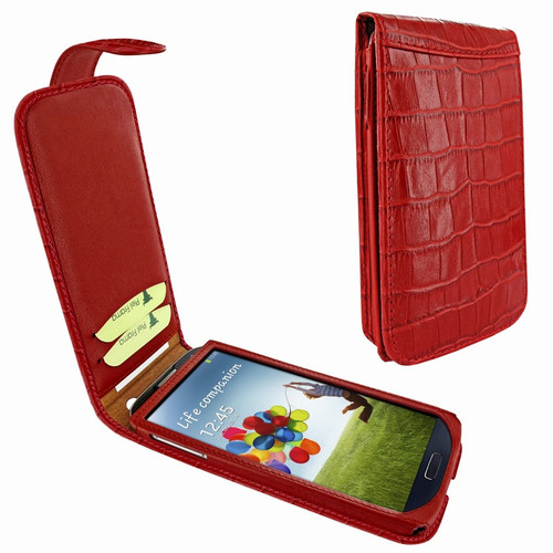 Piel Frama 620 Red Crocodile Magnetic Leather Case for Samsung Galaxy S4
