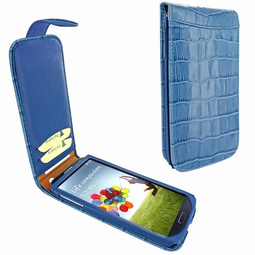 Piel Frama 620 Blue Crocodile Magnetic Leather Case for Samsung Galaxy S4