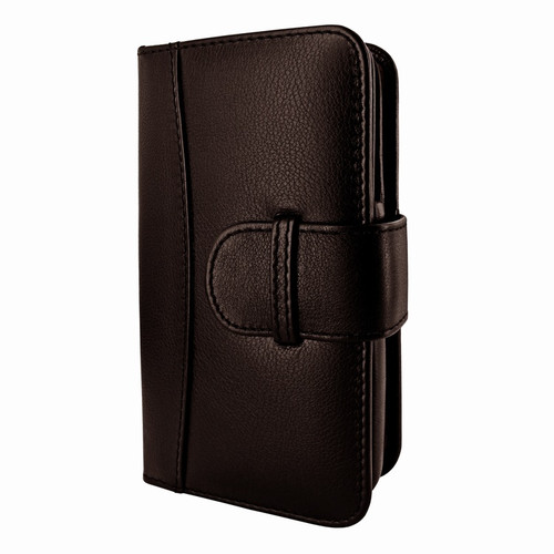 Piel Frama 622 Brown Leather Wallet for Samsung Galaxy S4