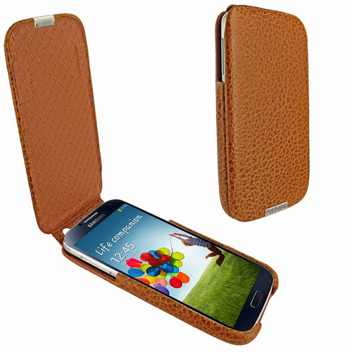 Piel Frama 618 iMagnum Tan Karabu Leather Case for Samsung Galaxy S4