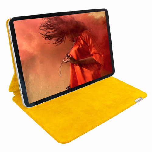 "Piel Frama 819 Yellow Crocodile FramaSlim Leather Case for Apple iPad Pro 12.9"" (2018)"