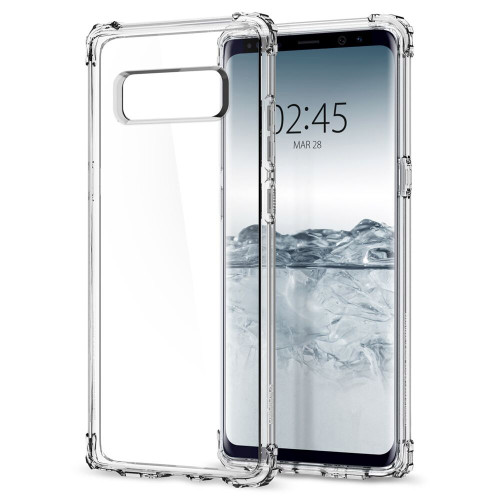 Samsung Galaxy Note 8 Spigen Crystal Shell Case - Clear Crystal