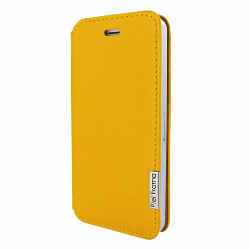 Piel Frama 639 Yellow FramaSlim Leather Case for Apple iPhone 5 / 5S / SE
