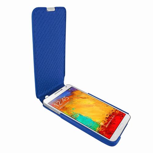 Piel Frama 641 iMagnum Blue Leather Case for Samsung Galaxy Note 3