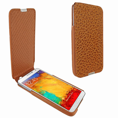 Piel Frama 641 iMagnum Tan Karabu Leather Case for Samsung Galaxy Note 3