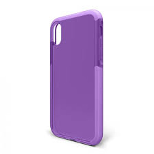 Bodyguardz - Ace Pro Case for Apple iPhone Xs / X - Purple and White