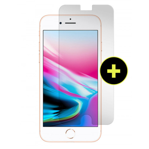 Gadget Guard - Black Ice Plus Glass Screen Protector for Apple iPhone 8  /  7  /  6s  /  6 - Clear