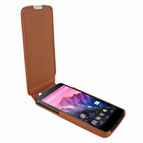 Piel Frama 650 iMagnum Tan Leather Case for Google Nexus 5