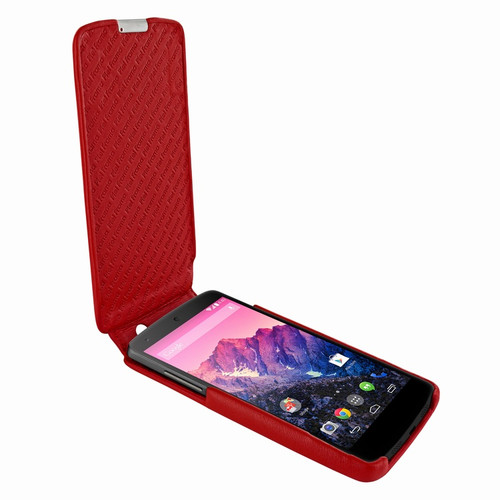 Piel Frama 650 iMagnum Red Leather Case for Google Nexus 5