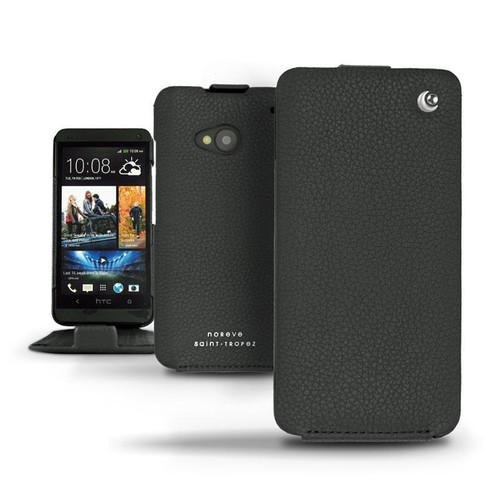 Noreve HTC One  Leather Case - Tradition - Ambition - Ebène ( Sleek P C12 - Black )