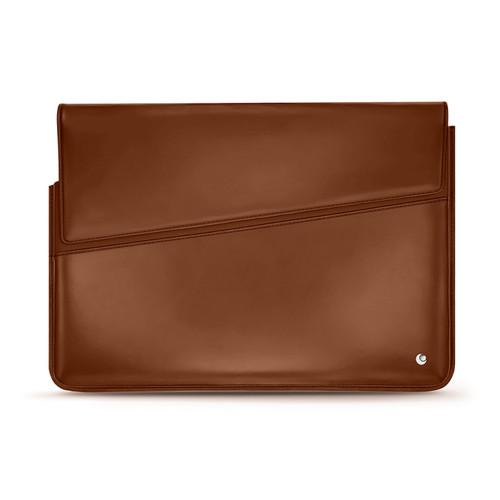 Noreve Leather Sleeve For 15' Laptop - Griffe 1 - Griffe 1 - Perpétuelle - Marron ( Nappa - Pantone 1615C )