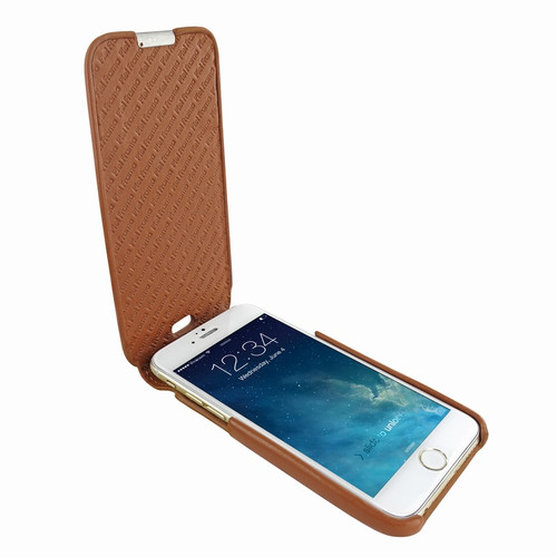 Piel Frama 676 Tan iMagnum Leather Case for Apple iPhone 6 / 6S / 7 / 8