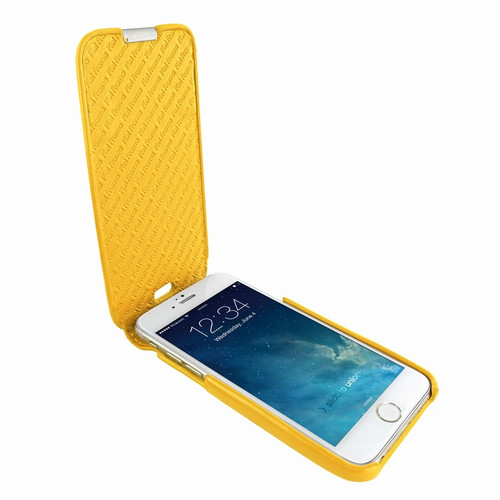 Piel Frama 676 Yellow iMagnum Leather Case for Apple iPhone 6 / 6S / 7 / 8