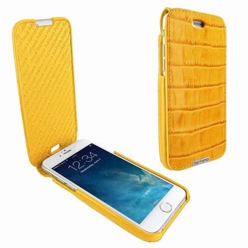 Piel Frama 676 Yellow Crocodile iMagnum Leather Case for Apple iPhone 6 / 6S / 7 / 8