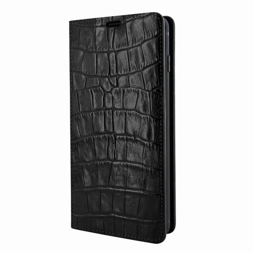 Piel Frama 820 Black Crocodile FramaSlimCards Leather Case for Samsung Galaxy S10