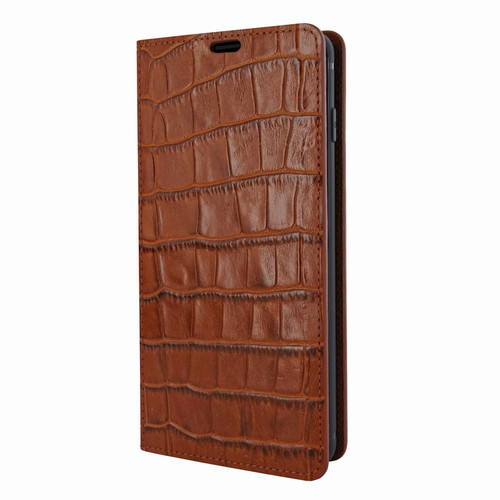 Piel Frama 822 Brown Crocodile FramaSlimCards Leather Case for Samsung Galaxy S10e