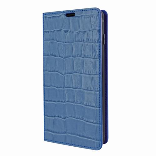 Piel Frama 822 Blue Crocodile FramaSlimCards Leather Case for Samsung Galaxy S10e