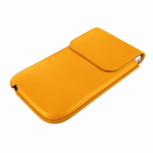 Piel Frama 692 Yellow Leather Slim Pouch for Apple iPhone 6 Plus / 6S Plus / 7 Plus
