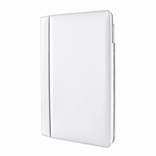 "Piel Frama 695 White Magnetic Leather Case for Apple iPad Air 2 / iPad 9.7"" 2017 