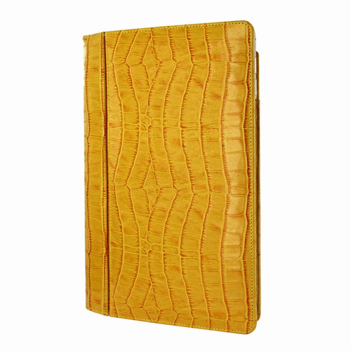 "Piel Frama 695 Yellow Crocodile Magnetic Leather Case for Apple iPad Air 2 / iPad 9.7"" 2017 | 2018"