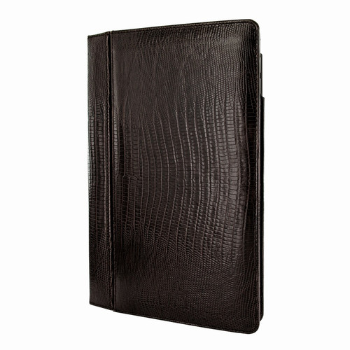 """Piel Frama 695 Brown Lizard Magnetic Leather Case for Apple iPad Air 2 / iPad 9.7"""" 2017 