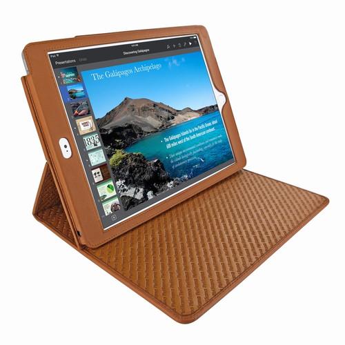 "Piel Frama 694 Tan Cinema Magnetic Leather Case for Apple iPad Air 2 / iPad 9.7"" 2017 | 2018"