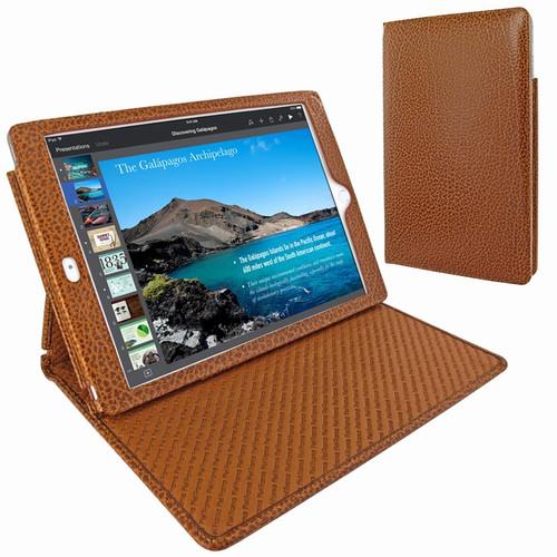"Piel Frama 694 Tan Karabu Cinema Magnetic Leather Case for Apple iPad Air 2 / iPad 9.7"" 2017 | 2018"