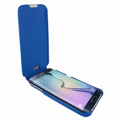 Piel Frama 714 Blue iMagnum Leather Case for Samsung Galaxy S6 Edge