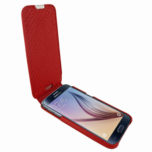 Piel Frama 713 Red iMagnum Leather Case for Samsung Galaxy S6