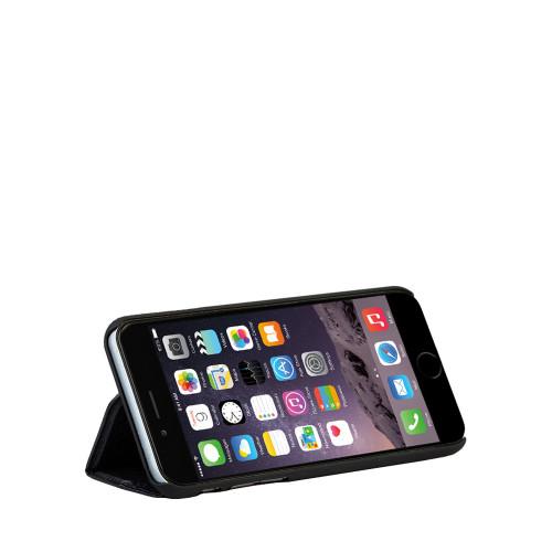 Mapi Black Deskstand Folio Case for Apple iPhone 6 Plus / 6S Plus